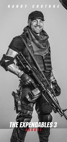 Randy Couture expendables 3 poster