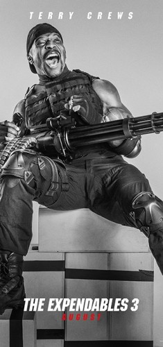 Terry Crews expendables 3 poster